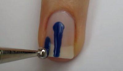 Trasează 3 linii pe unghie. Rezultatul este magnific!