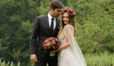 Cum a fost la nunta Adelei Popescu cu Radu Vâlcan! Video