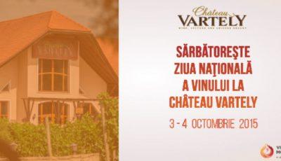 Sărbătorește Ziua Națională a Vinului la Château Vartely