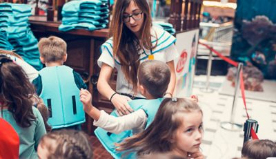 La Shopping MallDova a fost dat startul expediției maritime