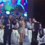 Foto: Andra a cântat la o nuntă selectă în Moldova!