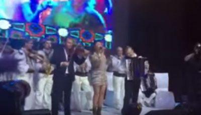 Andra a cântat la o nuntă selectă în Moldova!