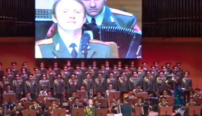 Video. Cum rușii cântă piese patriotice românești!