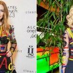 Foto: Gluk'oZa și Natalia Podolskaya, în rochii identice. Pe cine stă mai bine?