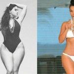 Foto: Kim Kardashian are o concurentă în Rusia… cu posteriorul și mai mare!