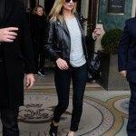 Kate Moss Leaves The Meurice Hotel - Paris