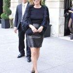 Kate Moss Sighting - Oct. 1 - Paris