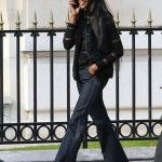 Exclusive. Naomi Campbell Shopping In Paris