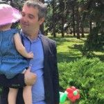 Foto: Sergiu Sîrbu, despre fericirea de a fi tată