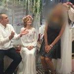 Foto: Cine a jucat voalul la nunta Marianei Mihăilă