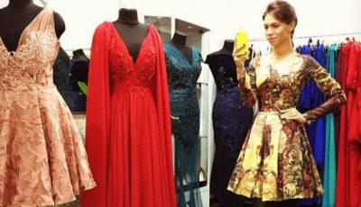 Sezonul târgurilor. Olga Blanc își vinde hainele!