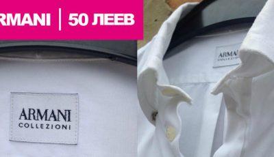 Unde poți găsi o cămașă Armani cu 50 de lei!