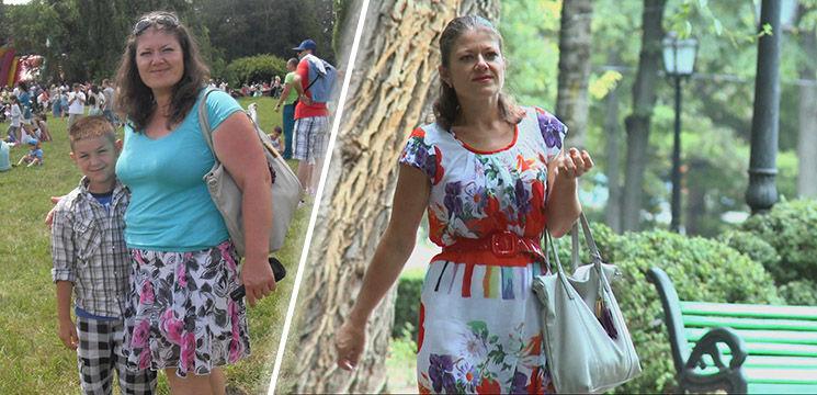 """Foto: A slăbit 30 de kilograme privind emisiunea """"Serviciul de Slăbit Sănătos""""! Vezi cum i-a reușit"""