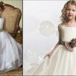 Foto: Cum îmbraci micile prinţese la nuntă?