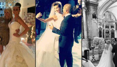 Cele mai scumpe nunți din showbizzul rusesc! Bătălia rochiilor de mireasă