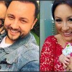 Foto: Andra şi Măruţă, botez de 70.000 de euro pentru fiica lor