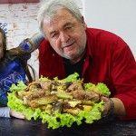 """Foto: """"Reţeta de film"""" a lui Valeriu Jereghi! Cu siguranţă nu ai mai gătit aşa ceva"""