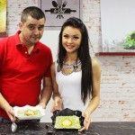 Este pentru prima dată când soții Melnic gătesc împreună