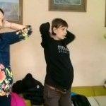 Foto: Coconadă în mișcare! Unica Sport pregătește fizic mămicile pentru naștere