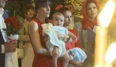 Exclusiv! Gheorghe Țopa și-a încreștinat nepotul!