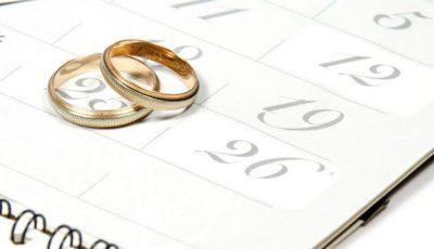 Când NU se fac nunți în 2016!