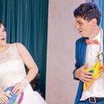 Foto: Nunți celebre! Cine este soția controversatului actor Sergiu Voloc?