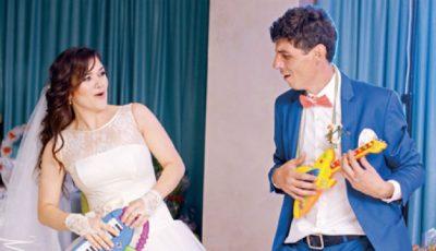 Nunți celebre! Cine este soția controversatului actor Sergiu Voloc?