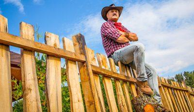 """Gheorghe Țopa în rolul unui cowboy! """"Este unul din rolurile care mereu aș fi vrut să le joc"""""""