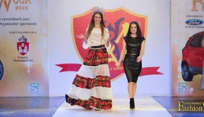 """Basarabeanca Victoria Sava și-a prezentat colecția la """"Kasta Morrely""""!"""