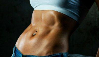 Exercițiile fizice nu-ți asigură pătrățelele de pe abdomen!