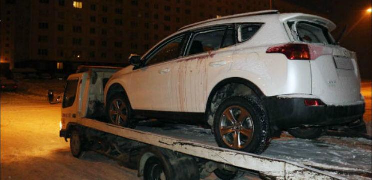 Foto: Au explodat în maşină în timp ce făceau dragoste. Ea era politiciană din Rusia