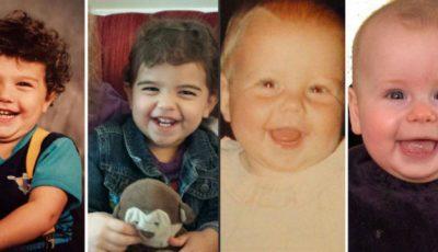 Copii care arată exact ca părinții lor când erau mici. Foto