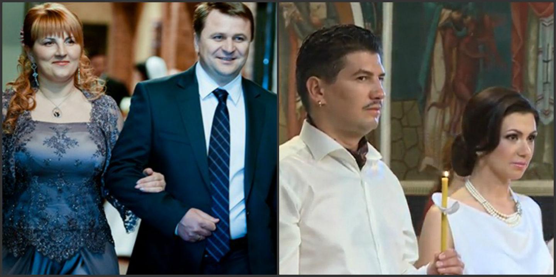 Sergiu și Liliana Palihovici si nicu