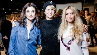 Polina Gagarina, Vera Brejneva și alte vedete la prezentarea Reebok Ventilator și Yeka Haski