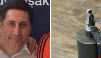 O grenadă a explodat în curtea unui impresar de fotbal de la noi