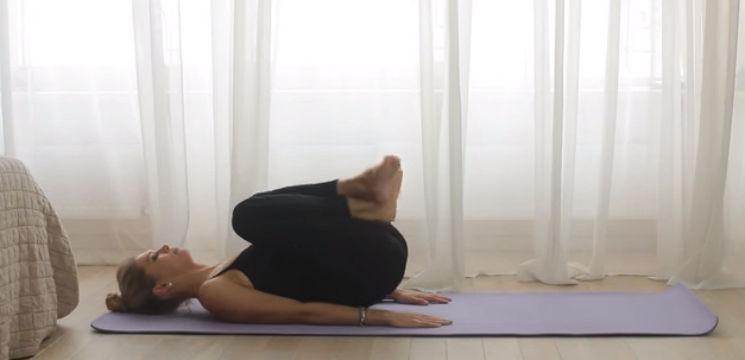 Foto: Vera Brejneva își fortifică abdomenul cu aceste exerciții