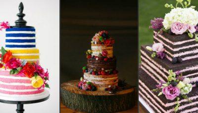 Cel mai în vogă tort de nuntă! Ați auzit de naked-cake?