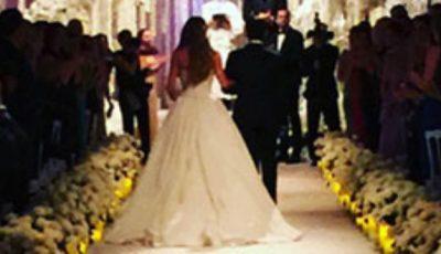 Cea mai plătită actiță de televiziune s-a măritat!