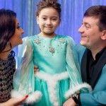 Foto: Scrisoare către Moş Crăciun: Ce îşi doreşte fiica Corinei Ţepeş şi a lui Costi Burlacu