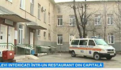 19 persoane s-au intoxicat după ce au mâncat la un restaurant din Capitală
