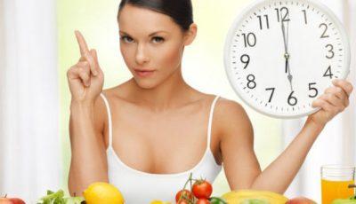 Ce să mănânci în funcție de ora mesei ca să te menții în formă maximă