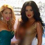 """Foto: Daniela Crudu, cu sânii la vedere la """"Stars Awards"""""""
