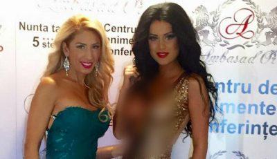 "Daniela Crudu, cu sânii la vedere la ""Stars Awards"""