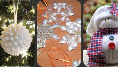 Pregăteşte-te de sărbătoare! Decoraţiuni handmade pentru Crăciun