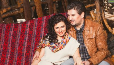 Soția lui Nicu Țărnă s-a tuns băiețește!