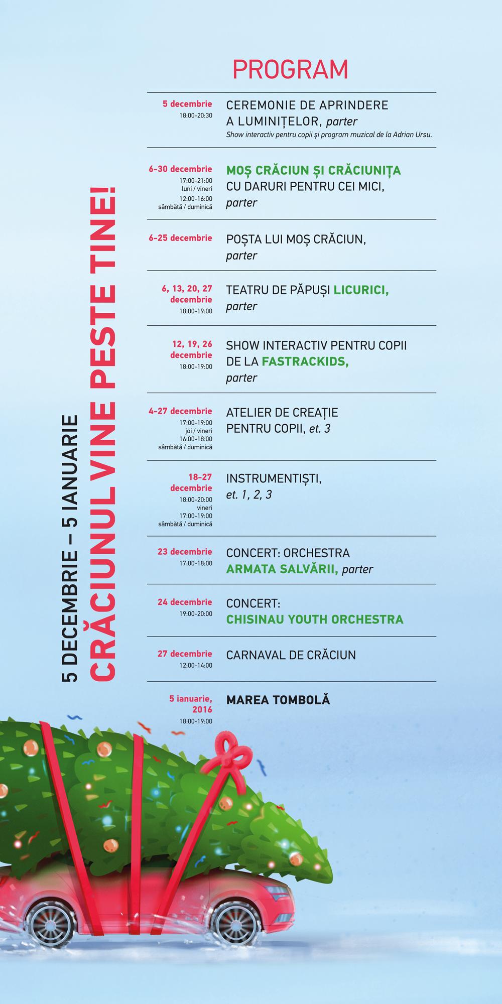 Program Xmas 2015