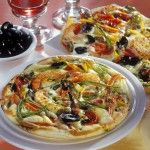 Foto: Pizza de post! Cu ardei gras și măsline