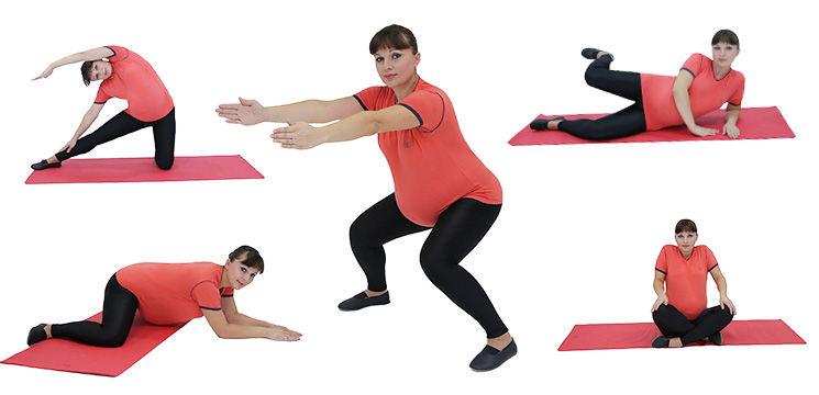 Foto: 5 exerciții pentru graviduțele energice!