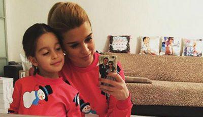Fiica mai mare a Xeniei  Borodina va fi o bonă de nota 10!
