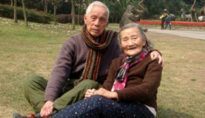 Și-au refăcut pozele de la nuntă dupa 70 de ani de căsnicie